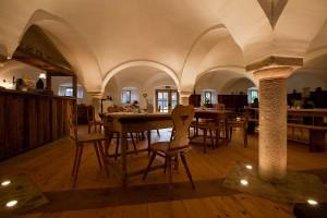 Die LandWirtschaft ist ein uriges bayerisches Wirtshaus in einem Gewölbe.