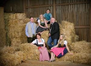 Familie Zauner vom Thalhauser Hof